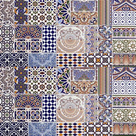 Marokkanische Patchwork Fliesen Bunt  Bei Ihrem Orient