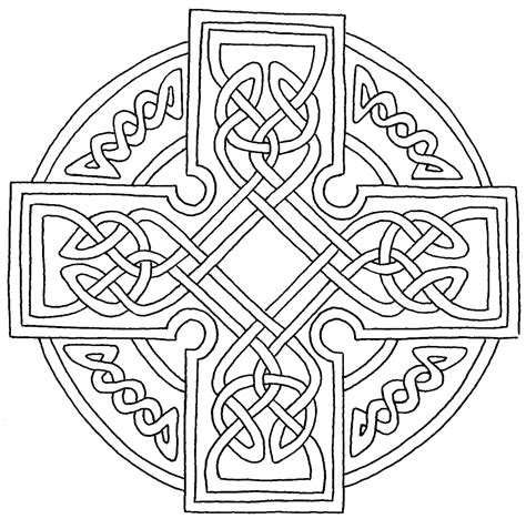 Free Celtic 3 Coloring Pages