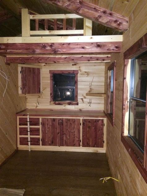 trophy amish cabins llc    escapeescape style cabin  basically  cottage interior