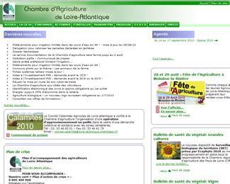 chambre agriculture 08 chambre d 39 agriculture de loire atlantique agence web et