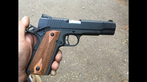 45 Armscor Citadel 1911 Testing And Review Youtube