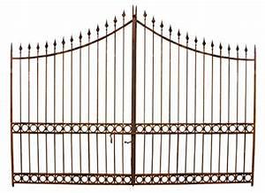 Portail Fer Forgé Plein : portail en fer plein 404x288h cm avant le printemps ~ Dailycaller-alerts.com Idées de Décoration