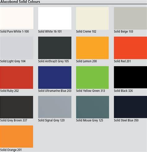 composite colors vision clad australia alucobond colours