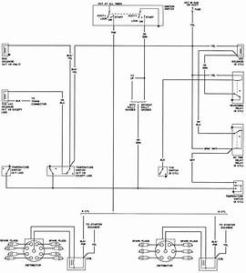 1970 Electrical Diagram - Second Generation Pontiac Firebird  1970 - 1981