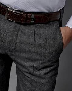 Pantalon A Pince Homme : pantalon de costume pince gris homme roberto verino ~ Melissatoandfro.com Idées de Décoration