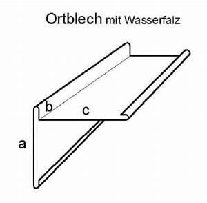 Ortblech Mit Wasserfalz : butterjalle ortgangblech mit wasserfalz ~ Whattoseeinmadrid.com Haus und Dekorationen
