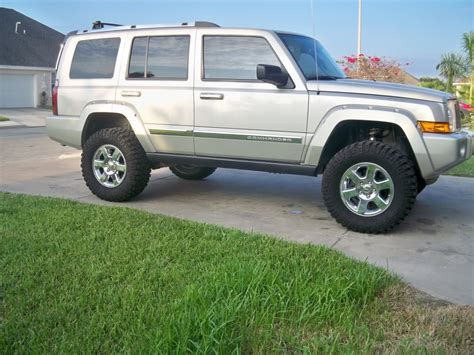 commander jeep lifted jeep commander 6 inch lift image 89