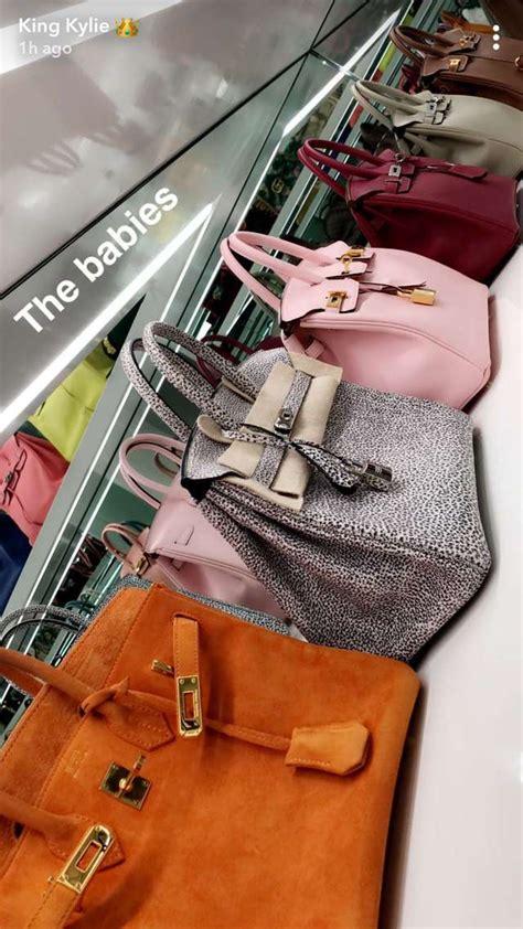 kylie jenners  million handbag collection