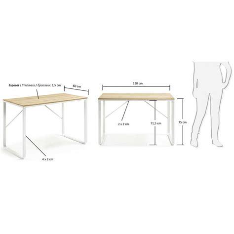 plateau bureau bois bureau design bois metal mzaol com