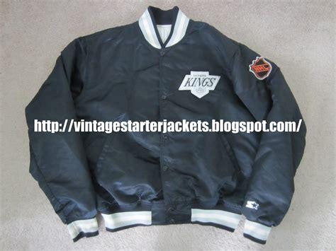 vintage sports apparel vintage los angeles kings satin
