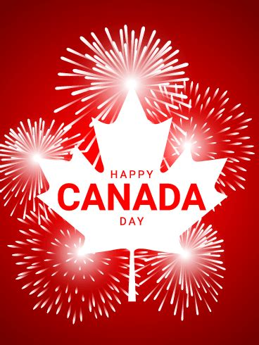Happy Canada Day Card Birthday Greeting Cards Davia