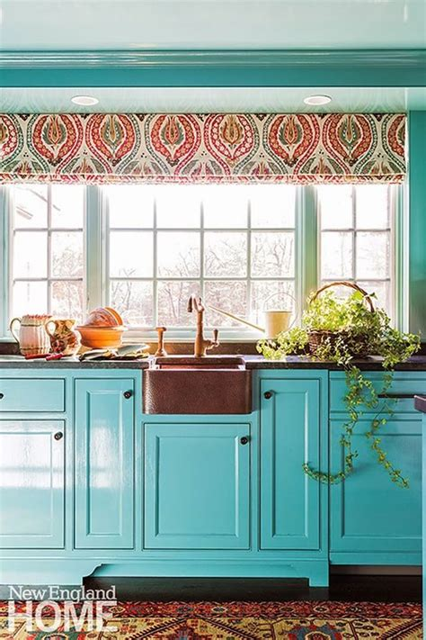 turquoise kitchen cabinets turquoise and aqua kitchen ideas refresh restyle 2968