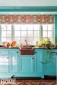 turquoise and aqua kitchen ideas refresh restyle With kitchen cabinets lowes with blue coral wall art