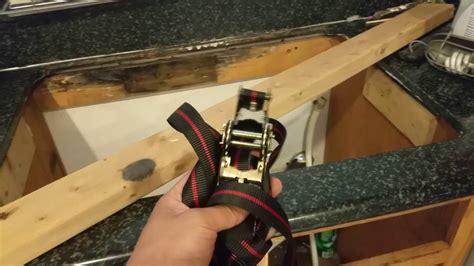 removing kitchen sink verbal walk through removing undermount kitchen sink 1846