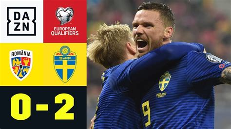 09:21 uhr · männer · euro. Schweden sichert sich EM-Ticket: Rumänien - Schweden 0:2 | EM-Quali | DAZN Highlights - YouTube