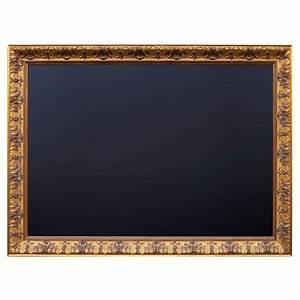 Bilder Mit Rahmen Kaufen : kreidetafel antik mit barockrahmen in gold ~ Buech-reservation.com Haus und Dekorationen