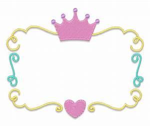 Design Packages :: Princess Crown Font Frame