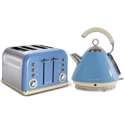 morphy richards toaster and kettle morphy richards accents 102256no 1 5l pyramid kettle and