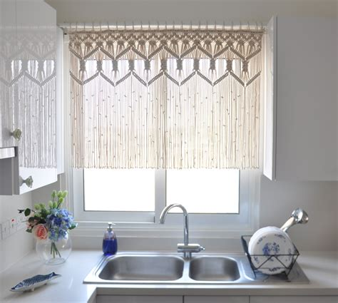 Cool Contemporary Kitchen Curtains  Looks Spectacular