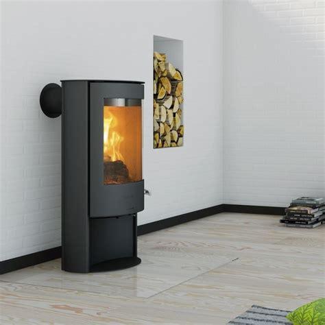 sola from kernow fires freestanding fireplace modern