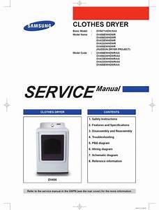 Samsung Dv5471aew  Xaa Service Manual Pdf Download