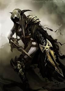 Assassin By Aditya777 Female Thief Rogue Sword Dagger