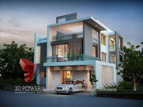 bungalow elevation  power