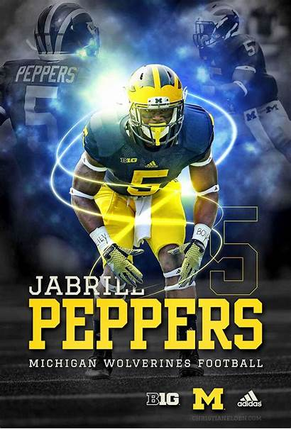 Jabrill Peppers Michigan Football Wolverines Future Photoshop