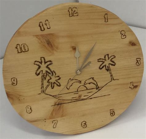 year mtw student woodwork clocks clock