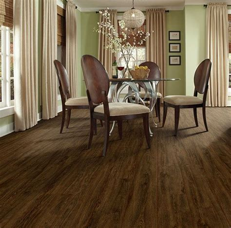 moduleo vision renaissance oak  dining room