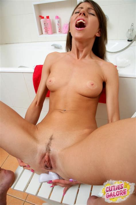 Cute Teen Babe Enjoying With Dildo Inside Her Ass | Just Teen Babes and Young Teen Girls