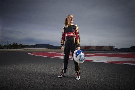 lotus formula  team appoints female driver