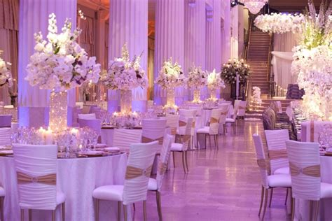 Wedding Venues Decoration : Exceptional Wedding Event In Historical Houston Building