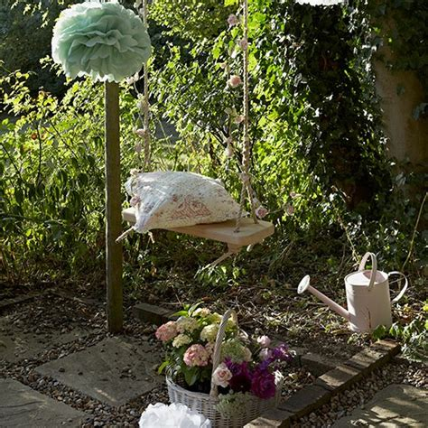 Garden Decoration Home by Vintage Garden With Swing Vintage Garden Ideas And D 233 Cor