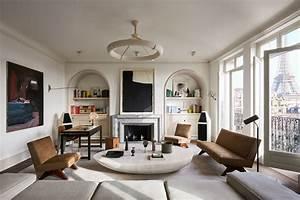 step, inside, joseph, dirand, u0026, 39, s, sumptuously, understated, paris, apartment