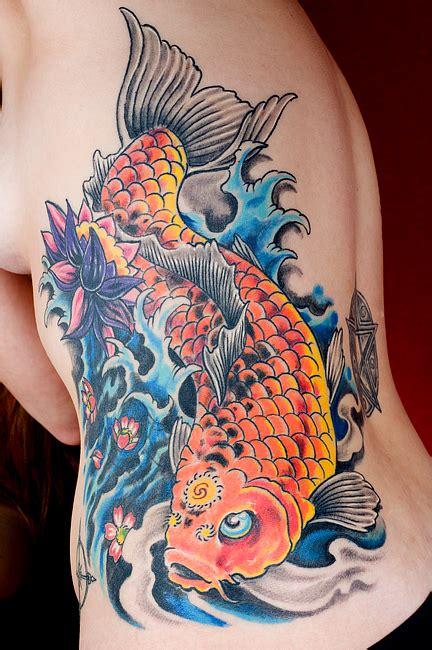 koi fish tattoo meaning