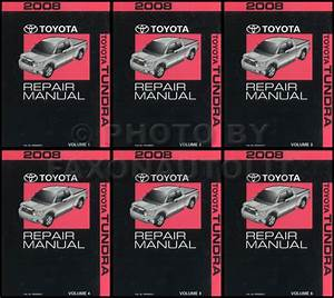 2008 Toyota Tundra Wiring Diagram Manual Original