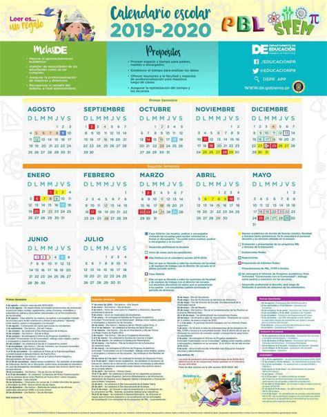 educacion anuncia calendario escolar educacion