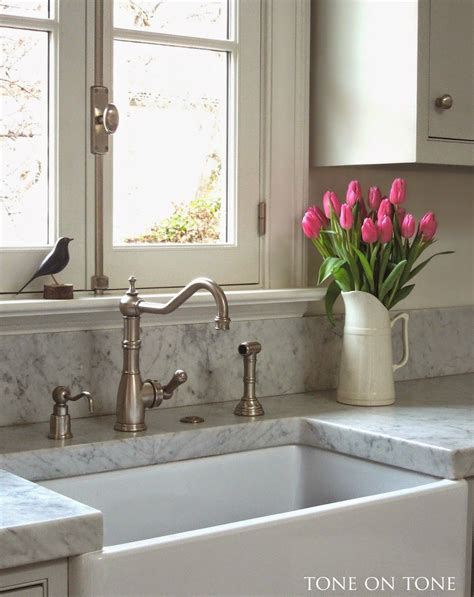 pics of kitchen sinks tone on tone our home 2 quot thick marble counter tops our 4182