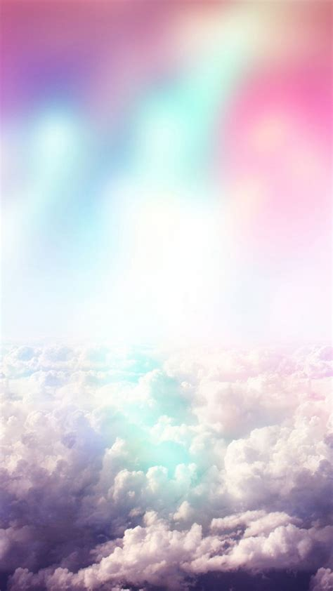 nuvens coloridas  nota  wallpapers clouds pinterest
