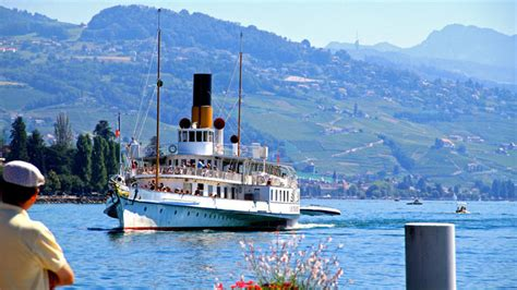 Ferry Lausanne by Ferryboats And Pleasure Cruises From Lausanne On Lake Geneva