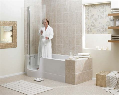 walk in shower tub for seniors walk in tubs for the elderly and disabled avacare
