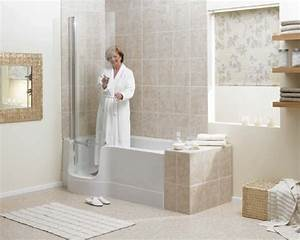 Walk in tubs for the elderly and disabled avacare for How to make bathroom safe for elderly