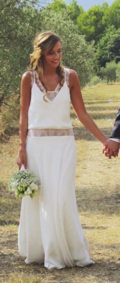 Robe Boheme Mariage Robe De Mari 233 E Boh 232 Me Chic My Wedding Robes And Chic