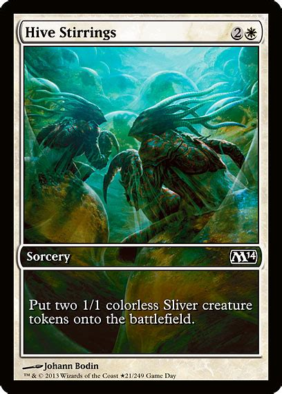 mtg spoilers two promos for m14 nurgleprobe