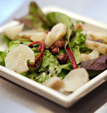 cuisiner les topinambours marmiton salade de topinambours vinaigrette à la noisette les