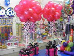 Balloon Centerpieces for Adult Birthday Party