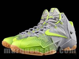 Neon Green And Grey Lebron