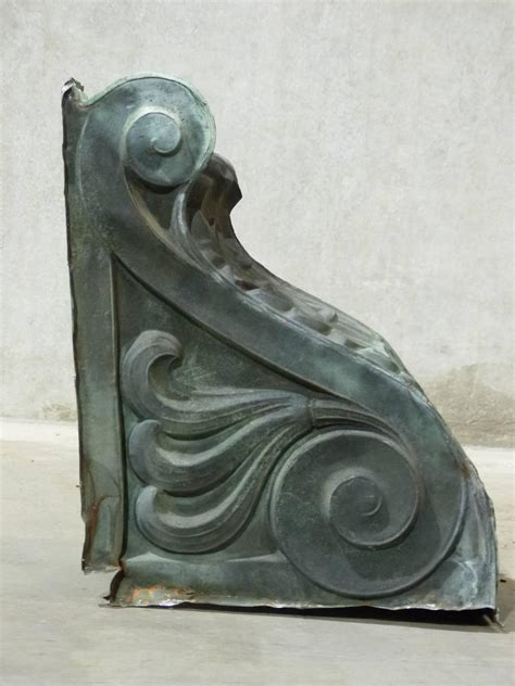 Corbels For Sale In Canada by 19th Century Outdoor Copper Corbels For Sale At 1stdibs