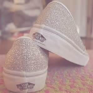 Glitter Vans Shoe